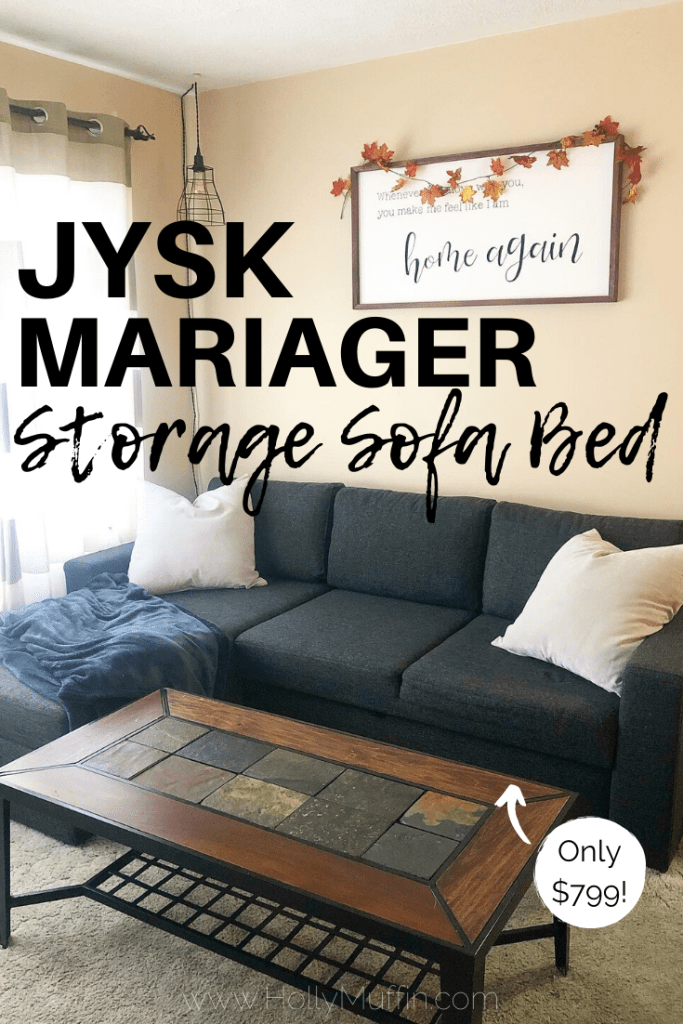 Jysk MARIAGER Sofa Bed Review