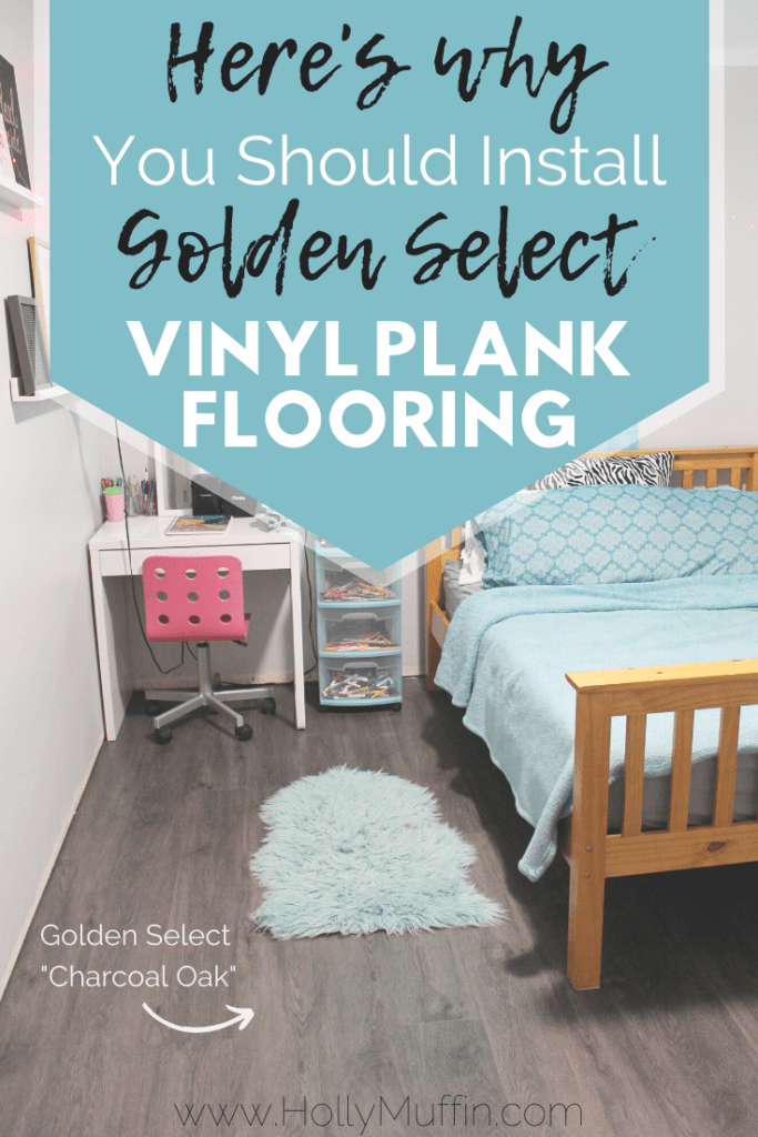 Here's why you should install Golden Select vinyl plank flooring!