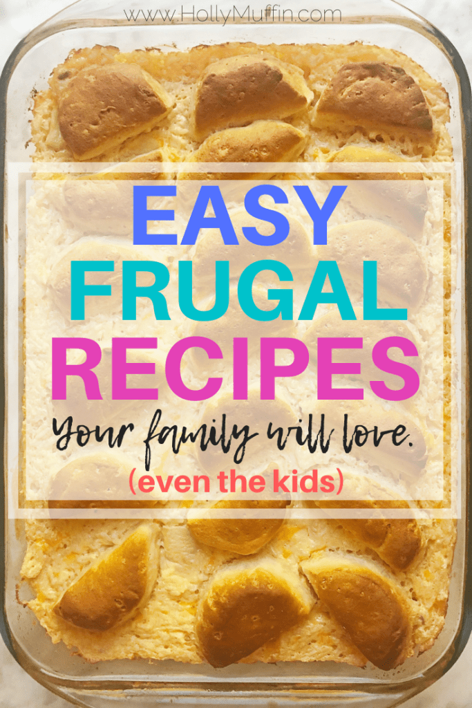 The best easy and frugal recipes for the whole family!