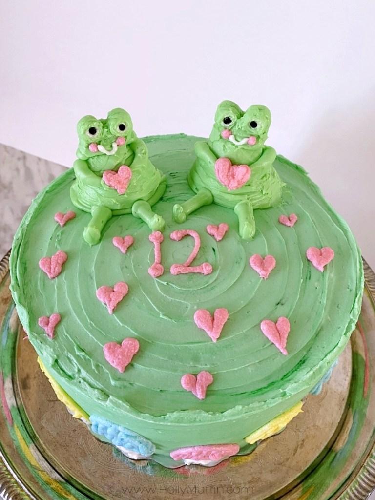 buttercream frogs