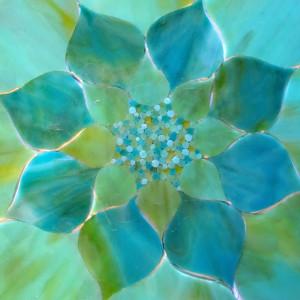 Kasia Polkowska mosaic repeating circles