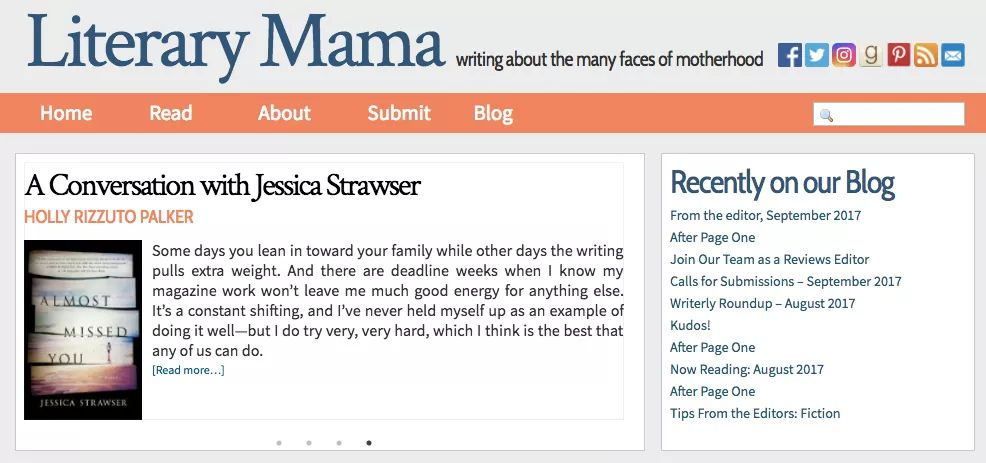 Interview with Jessica Strawser for Literary Mama