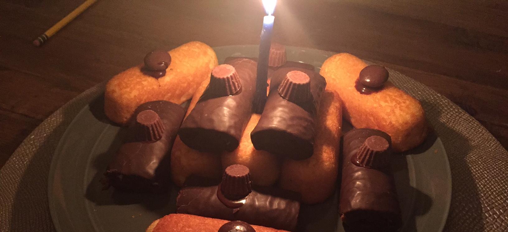 My Son's Twinkie Cake