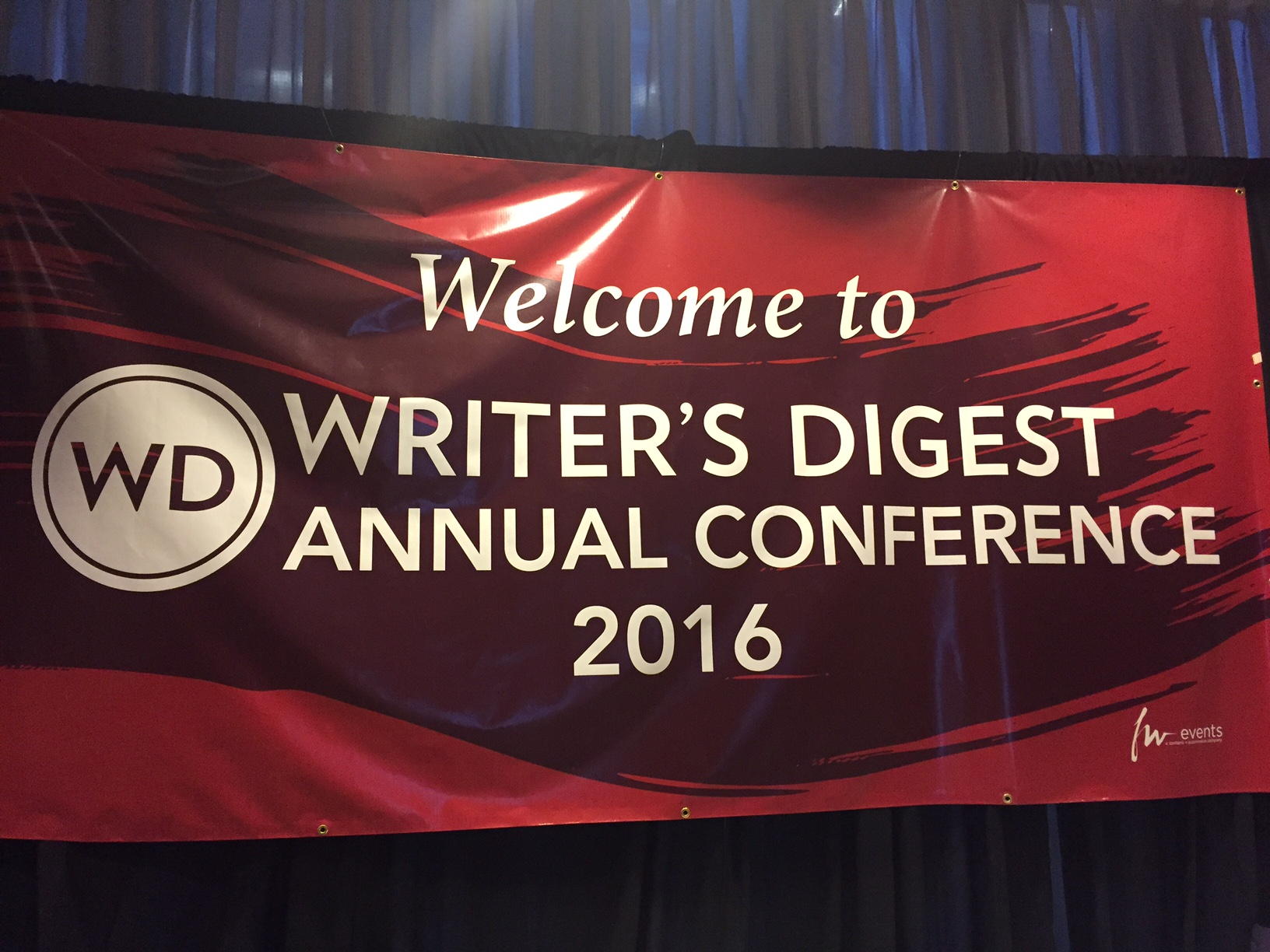 The Writer's Digest Conference 2016-My Takeaways