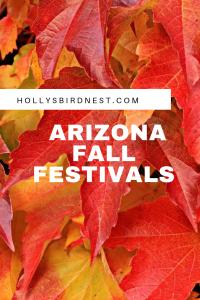 Festivais de outono do Arizona |  Holly's Bird Nest 6