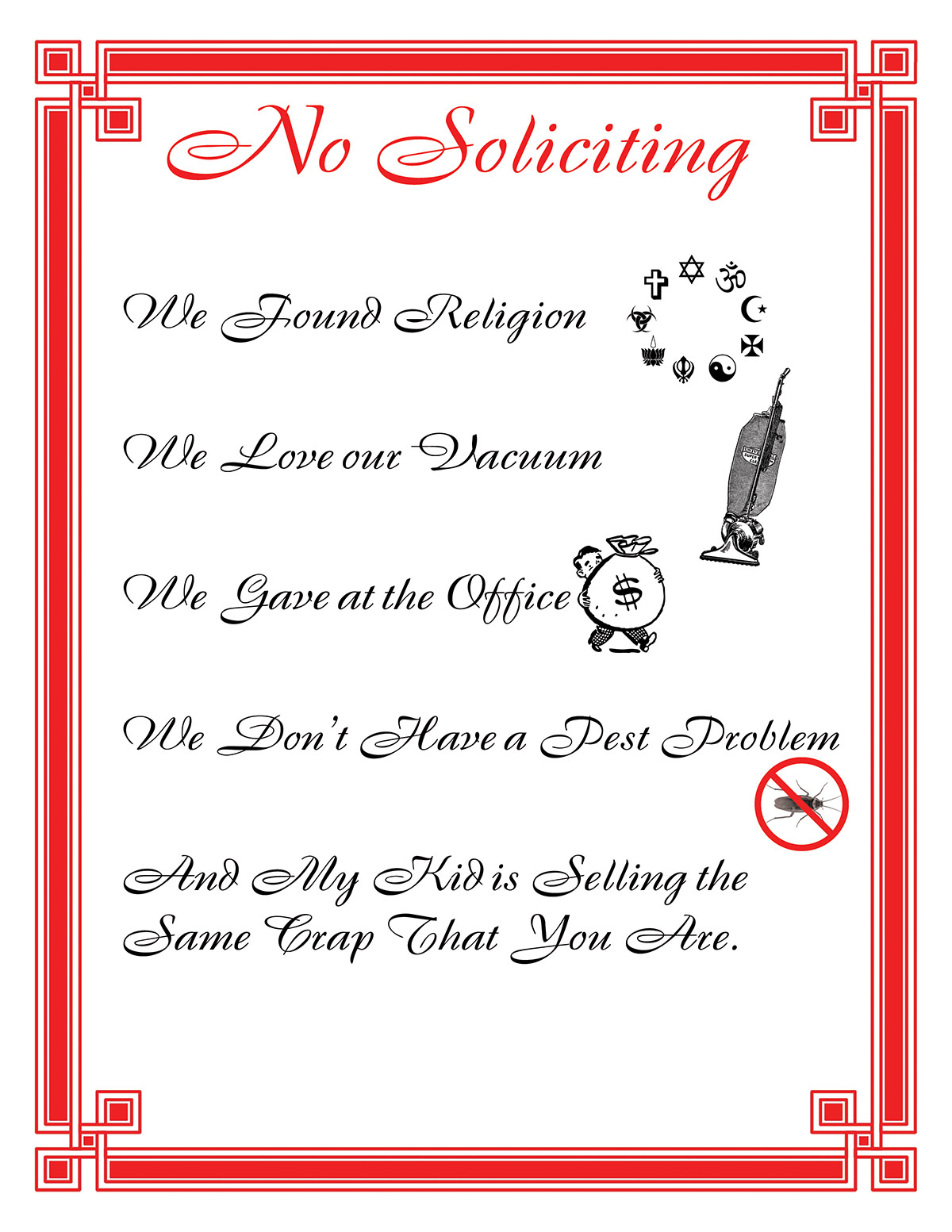 The Facts About Door To Door Soliciting In Holly Springs