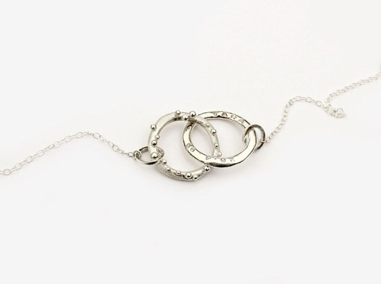 18th Birthday 'Loops' Necklace