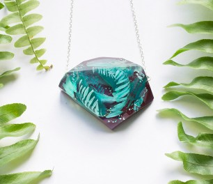 Botanical Statement Necklace