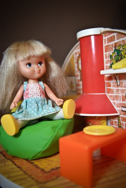 Moppets Secret Doll House  Hollys Vintage