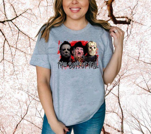 Horror Movie The Boys Of Fall Halloween Shirt
