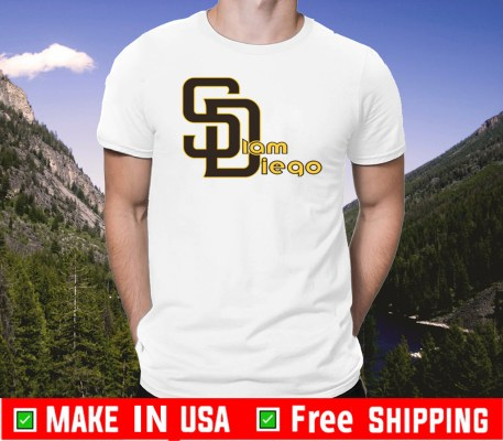 Slam Diego Padres Official T-Shirt