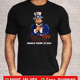 Donald Trump Jr President Campaign Trump Jr 2024 T-Shirt