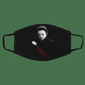 Mic-ha-el M-ye-rs Face Mask