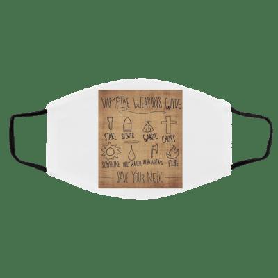 B-uffy th-e Va-mp-ire S-la-yer Wea-pon-s Face Mask