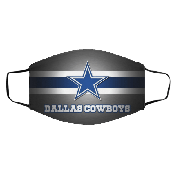 D-all–as cowboy Face Mask
