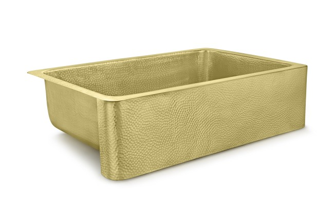 Lucca Brass Kitchen Sink - Holly Thompson Homes