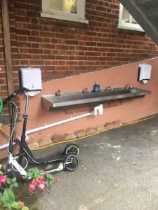 UCS sink trough