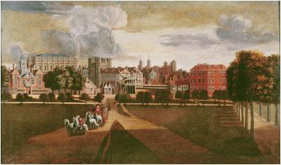 Whitehall Palace circa 1675