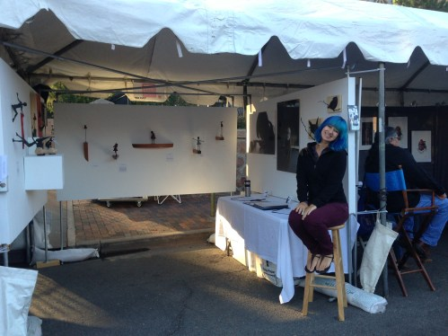 Holly Wilson-SWAIA 2013-Booth view 3