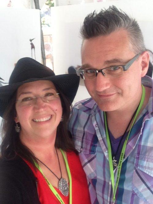 Holly Wilson-SWAIA 2013-with Paul Niemi