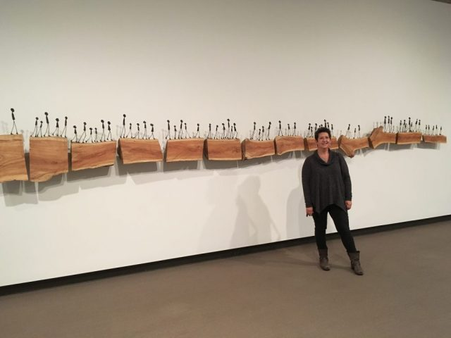 """SpringField Art Museum, """"Bloodline"""" by Holly Wilson"""