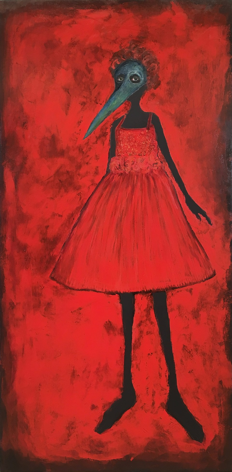 Girl in the Red Dress-Holly Wilson