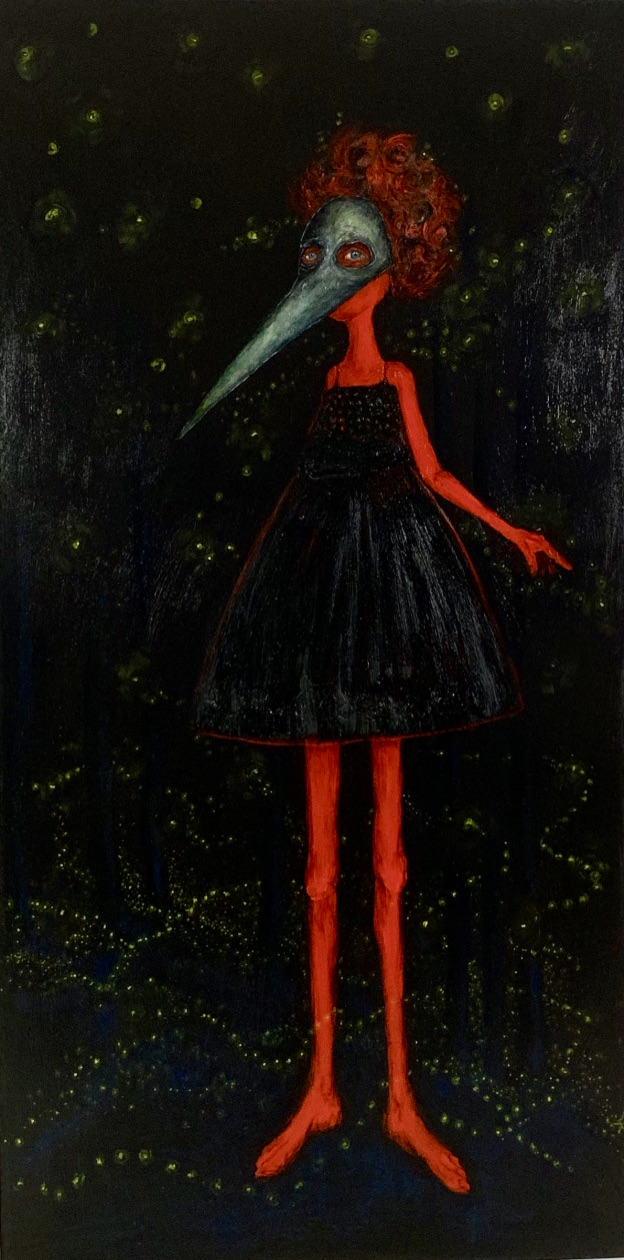 Dancing by the Light of the Fireflies She was Herself