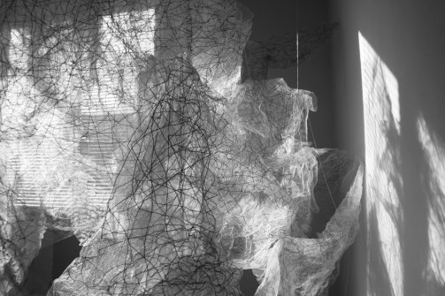 """""""Flight of Ideas"""" (1 of 5), B/W photo, 16""""x 20"""", 2017"""