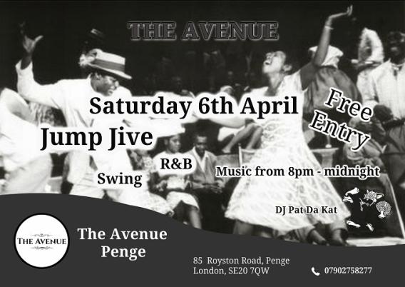 Jump jive music SE20 7QW