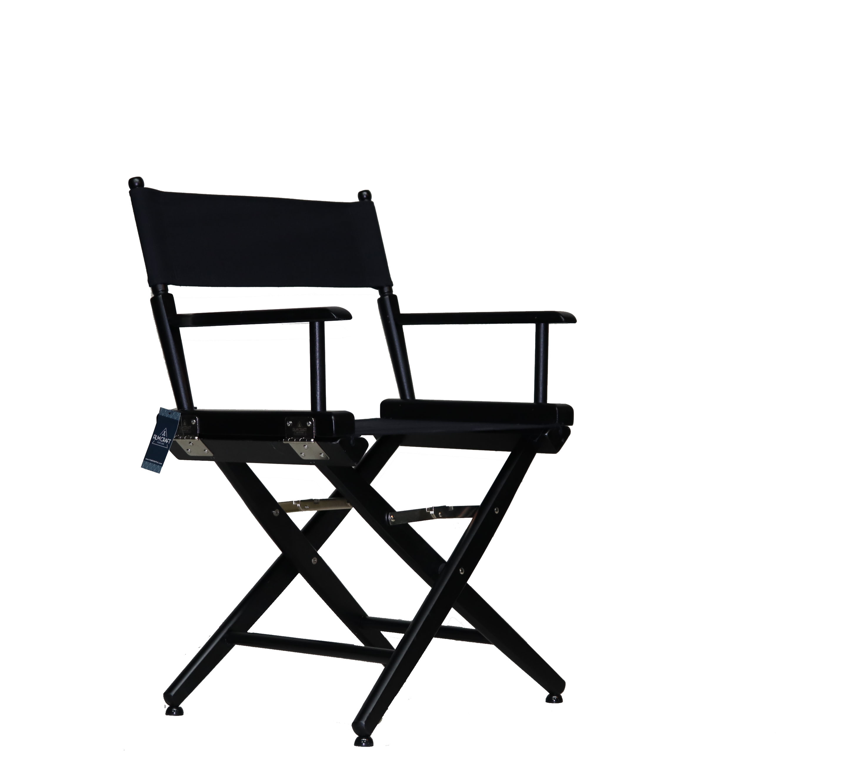Black Directors Chair Directors Chair Low Dining Height Filmcraft Brand
