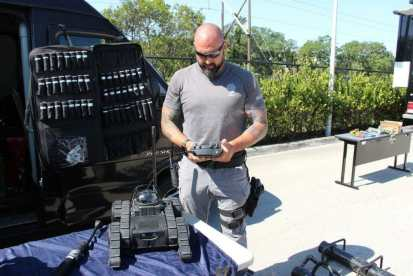 IMG_9354 City of Hollywood hosts public safety event