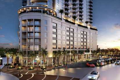 02 Hollywood moves forward with 19-story Young Circle Commons development