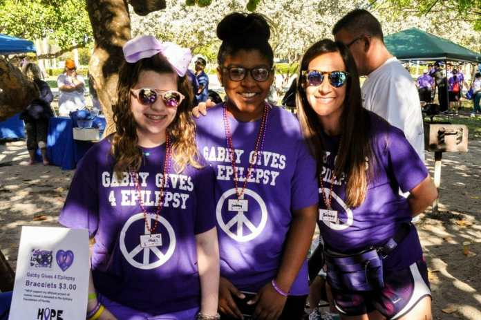 Broward team gabby gives for epilepsy