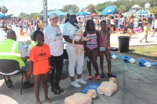 IMG_4223 First-time event at TY Park teaches children basics of water safety
