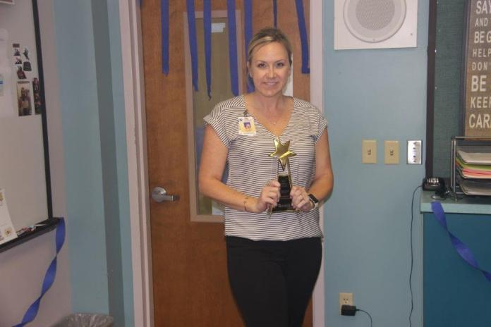 Erin brown named assistant principal of the year