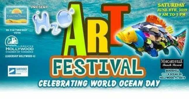 The first annual h2o, hollywood-2-ocean, seaside event is set for june 8