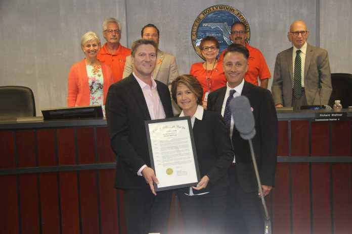 City of hollywood recognizes pride month 2019 during commission meeting
