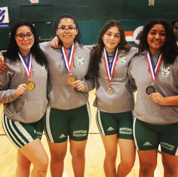 McArthur High School girls wrestling team does well in tournament