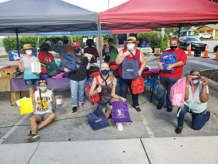 CEC holds drive thru Back-to-School event