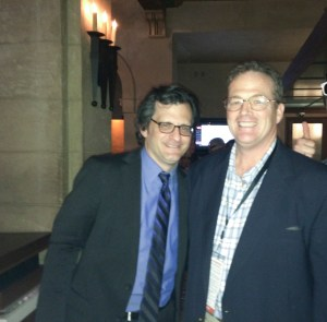TCM Classic Film Festival 2015. HollywoodGlee with TCM host and film critic, Ben Mankiewicz. at the historic Roosevelt Hotel in Hollywood, Calif. (Photo Credit: Rosie Pearson, Casablanca Entertainment)