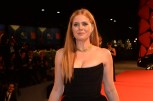 Amy Adams walks the Red Carpet in a shoulder baring black dress at the 73rd Venice International Film Festival. (Photo courtesy of ASAC Images/Biennale Cinema)