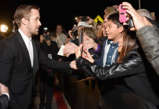 PALM SPRINGS, CA - JANUARY 02: Actor Ryan Gosling attends the 28th Annual Palm Springs International Film Festival Film Awards Gala at the Palm Springs Convention Center on January 2, 2017 in Palm Springs, California. (Photo by Michael Kovac/Getty Images for Palm Springs International Film Festival)