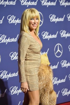 PALM SPRINGS, CA - JANUARY 02: Actress Suzanne Somers attends the 28th Annual Palm Springs International Film Festival Film Awards Gala at the Palm Springs Convention Center on January 2, 2017 in Palm Springs, California. (Photo by Frazer Harrison/Getty Images )
