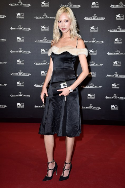 Jaeger-LeCoultre Hosts Gala Dinner At Arsenale In Venice: Arrivals - 74th Venice International Film Festival