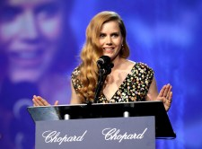 PALM SPRINGS, CA - JANUARY 02: Actress Amy Adams speaks onstage at the 28th Annual Palm Springs International Film Festival Film Awards Gala at the Palm Springs Convention Center on January 2, 2017 in Palm Springs, California. (Photo by Todd Williamson/Getty Images for Palm Springs International Film Festival)