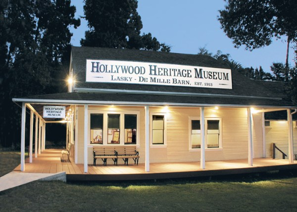 The Hollywood Heritage Museum in the LaskyDeMille Barn