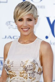 elsa pataky cut hair short