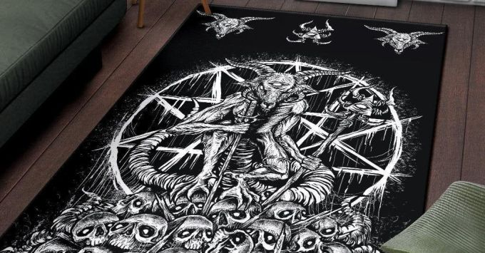 Gothic Living Room Rug