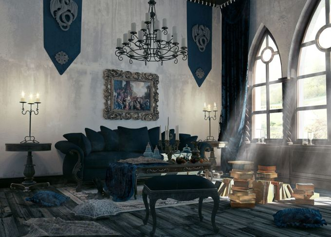 Southern Gothic Living Room