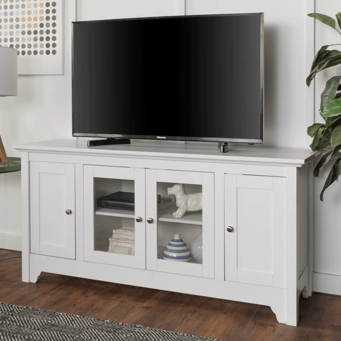 TV on the Cabinet